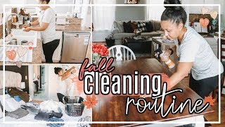 ULTIMATE CLEAN WITH ME FALL 2018   FALL CLEANING GIVEAWAY #FallFridaysWithPage   Page Danielle