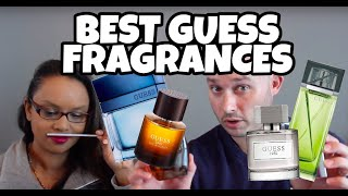 Wife Smells & Rates Best/Sexiest GUESS Fragrances