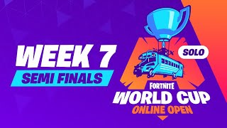 Fortnite World Cup - Week 7 Semi-Finals