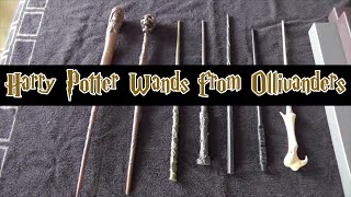 Wands from Ollivander