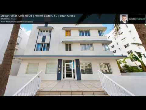 Ocean Villas Unit N305 | Miami Beach, FL