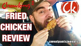 CHOWKING FRIED CHICKEN TASTE TEST (AMERICAN REVIEW)