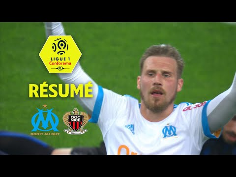 Olympique de Marseille - OGC Nice ( 2-1 ) - Résumé - (OM - OGCN) / 2017-18