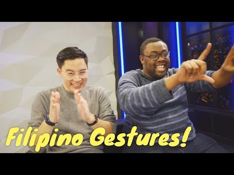 Foreigners React to FILIPINO GESTURES!