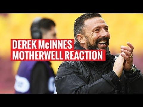 Motherwell 0-1 Aberdeen | Derek McInnes reaction