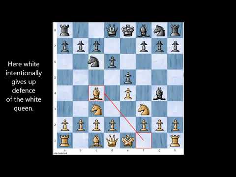 Chess trap #7: The legal trap (legal mate)