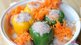 перец фаршированный рецепт  Stuffed Peppers(как приготовить вкусные фаршированные сладкие перцы рецепт от dovna enterpises., 2011-11-13T16:38:10.000Z)