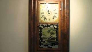 Conant And Sperry Wooden Works Og Wall Clock