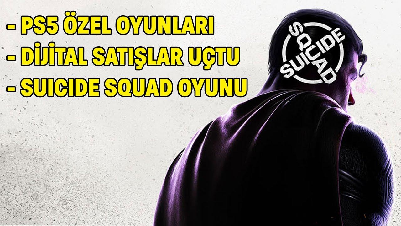 PLAYSTATION 5, ÖZEL OYUNLARA ABANACAK / SUICIDE SQUAD OYUNU GELİYOR