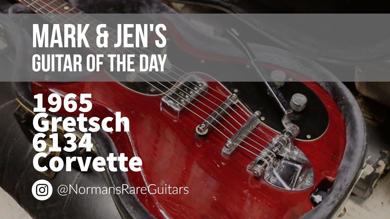 Norman's Rare Guitars - Guitar of the Day: 1965 Gretsch 6134 Corvette