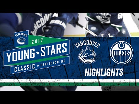 Canucks vs Oilers Highlights - Young Stars (Sept. 11, 2017)