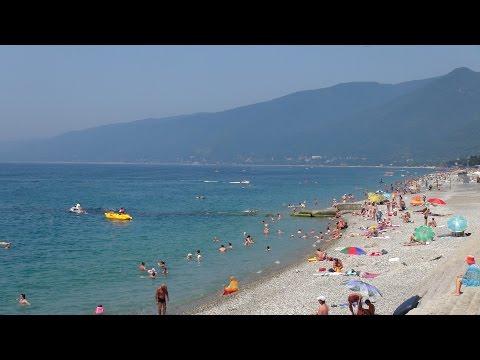 Обзор Гагры Абхазия Отдых на Море