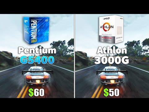 Athlon 3000G vs Pentium G5400 CPU and iGPU Test | Foci