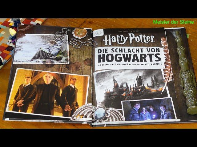 Das Buch aus dem Harry Potter Film, Die Schlacht von Hogwarts, Meister der Steine