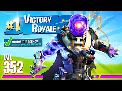 NEW UPDATE!! Storm The Agency Skins & Challenges! (Fortnite Battle Royale)