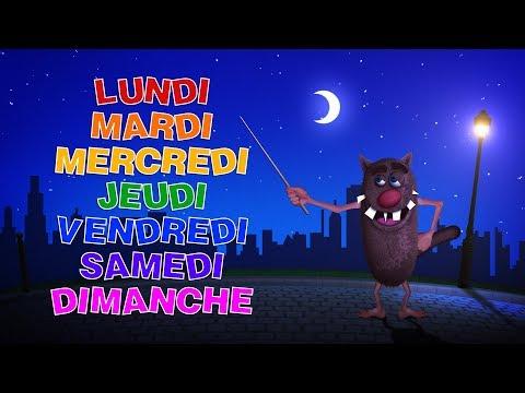 Foufou - Les jours de la semaine pour les enfants (Learn The days of the week for kids) 4k