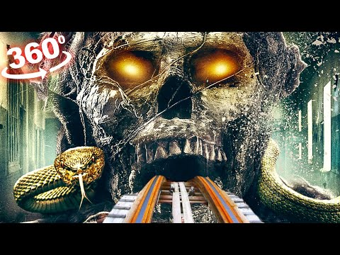 360 VIDEO VR Roller Coaster 4K 360 VR The Mummy Movie