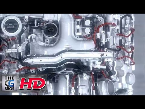 "CGI 3D Tech Viz 3D: ""The Engine"" - by PictureFront"