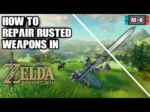 Can You Repair Rusted Weapons? In The Legend of Zelda BoTW?