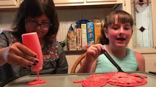 Pancake Art Challenge: Emojis for world emoji day!
