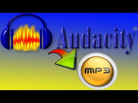 How to Download mp3 file from Audacity !!2016!!