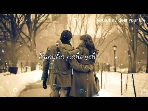 Jaane Kab Hothon Pe Rakh Di Dil Ki Baatein    Romantic Whatsapp Status Video