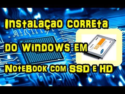 Como instalar o Windows no SSD do Dell ultrabook inspiron