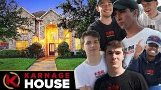 The KARNAGE Content House - Official Gaming House Tour 2019