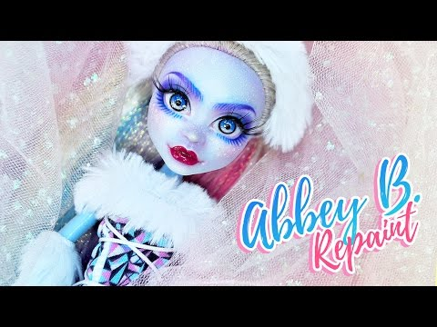 Abbey Bominable ✨| Custom MH Doll Repaint   | Mozekyto #2