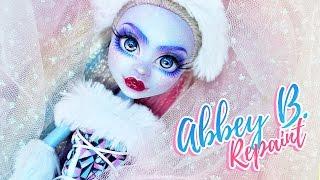 Abbey Bominable ✨| Custom MH Doll Repaint   | Mozekyto #2