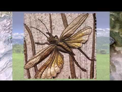 Объемные картины австралийской художницы - словно фотографии природы.