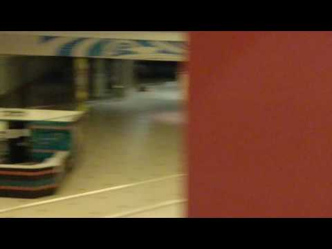 Inside Valley View Mall after midnight on 8/4/17