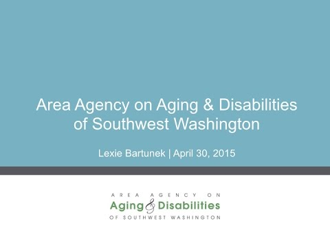 Area Agency on Aging & Disabilities of SW Washington