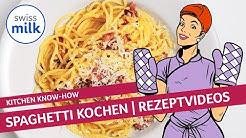 Metas Classics: Wie kann man Spaghetti Carbonara selber machen? | Rezeptvideo | Swissmilk (2013)