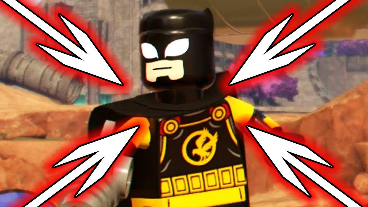 how to get batman in lego marvel superheroes