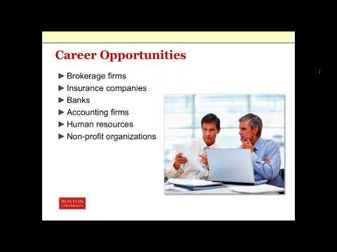 Overview of Boston University's Financial Planning Program