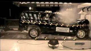 Crash Test 2001 - 2007 Volvo V70 (Full Frontal Impact) NHTSA