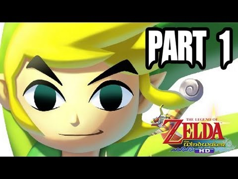 The Legend of Zelda: Wind Waker HD Gameplay Walkthrough - Part 1 (1080p - Wii U Zelda Gameplay HD)