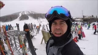 Ski VLOG au Mont Sainte-Anne - 29 décembre 2016 - GoPro