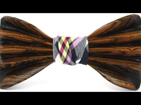 Wooden Bow Ties by Ella Bing: October 2015