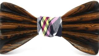 Wooden Bow Ties by Ella Bing: October 2015