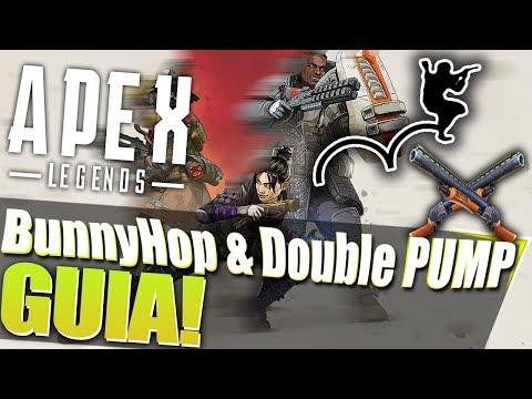 COMO HACER BHOP & DOUBLE PUMP EN APEX LEGENDS