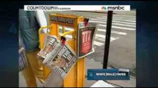 KEITH OLBERMANN- EX N.Y. POST EDITOR MURDOCH OWNED PAPER A TOXIC WORK PLACE...