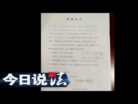 《今日说法》 20171011 闪婚之后 | CCTV