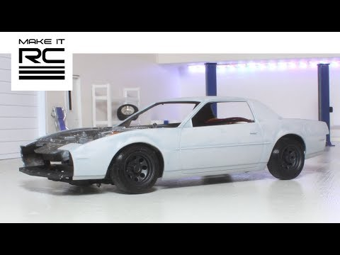 Motor Install + Test Driving the Firebird, and Designing Functional 1/24 Scale Jack Stand (E7)