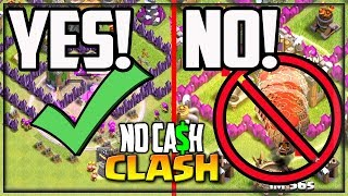 I Can't BELIEVE They Tried This - Clash of Clans - NO CASH Clash #18!