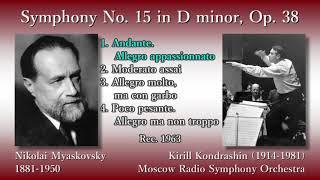 Myaskovsky: Symphony No. 15, Kondrashin (1963) ミャスコフスキー 交響曲第15番 コンドラシン
