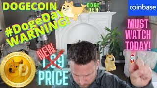 DOGECOIN WARNING ⚠️TODAY 4-20 DOGEDAY | Watch BEFORE BUY Or SELL Prediction | FULL News Details