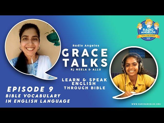 LEARN & SPEAK ENGLISH THROUGH BIBLE 09 | BIBLE Vocabulary in English Language | RJ NEELA & ALLU