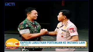 Kapolri Bertemu Kasad, Bahas Strategi dan Jaga Sinergi TNI & Polri - SIP 06/11